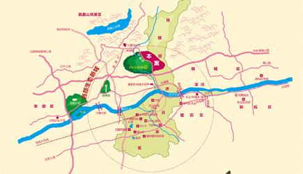 丰远·泗水玫瑰城区位图-楼盘360 测评 丰远 泗水玫瑰城 腾讯房产抚顺