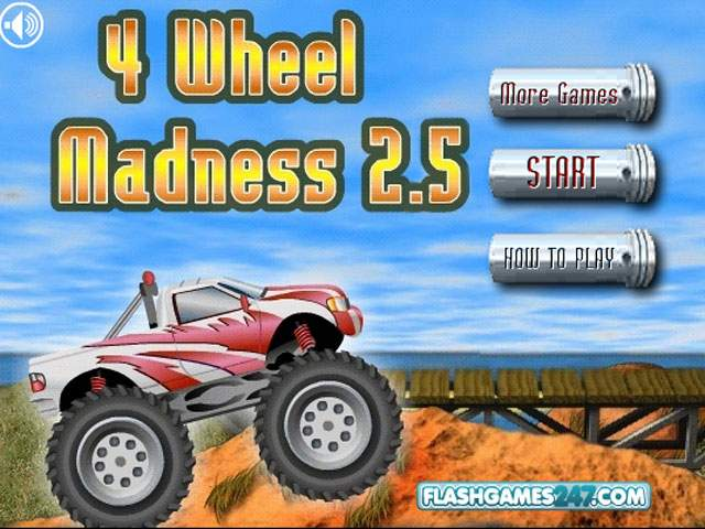 小游戏:破坏四驱车2.5