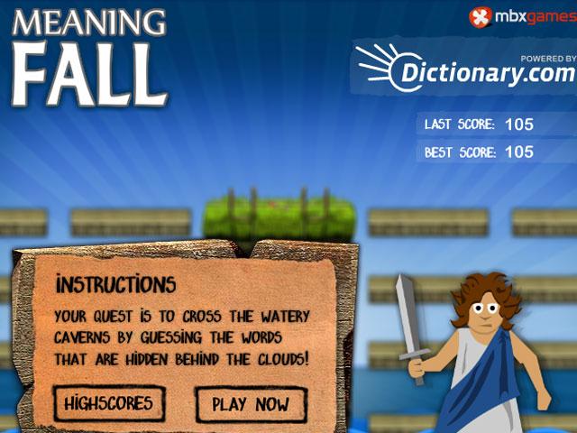 小游戏:英语猜谜