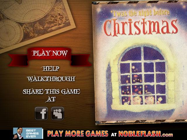小游戏:圣诞夜童话