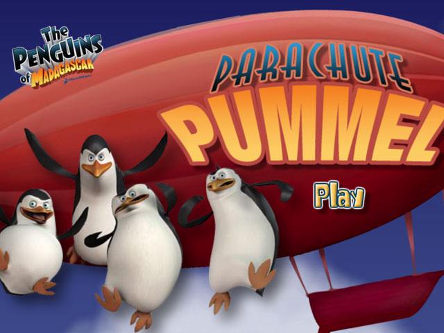 小游戏:企鹅降落