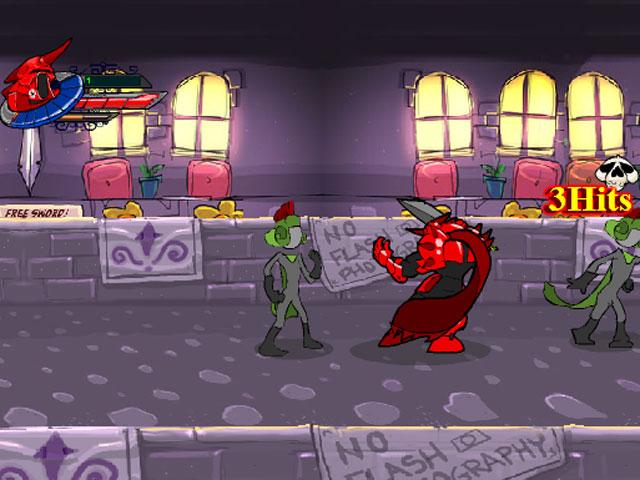 小游戏:红色骑士