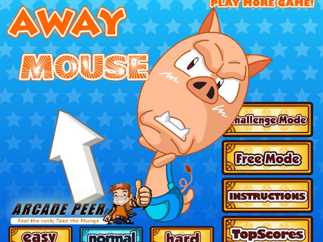 小游戏:鼠标快跑