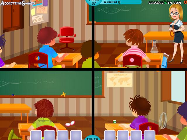 小游戏:整蛊女老师2