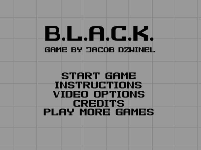 小游戏:黑色围栏