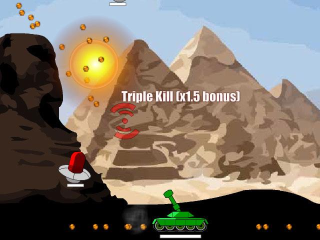 小游戏:超能坦克