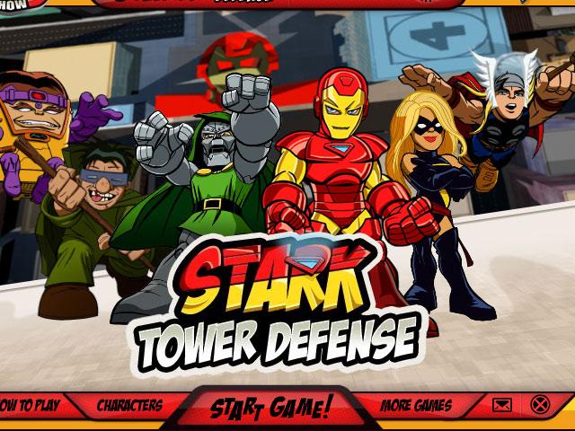 小游戏:超级英雄塔防