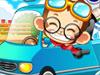 小猴开清洁车