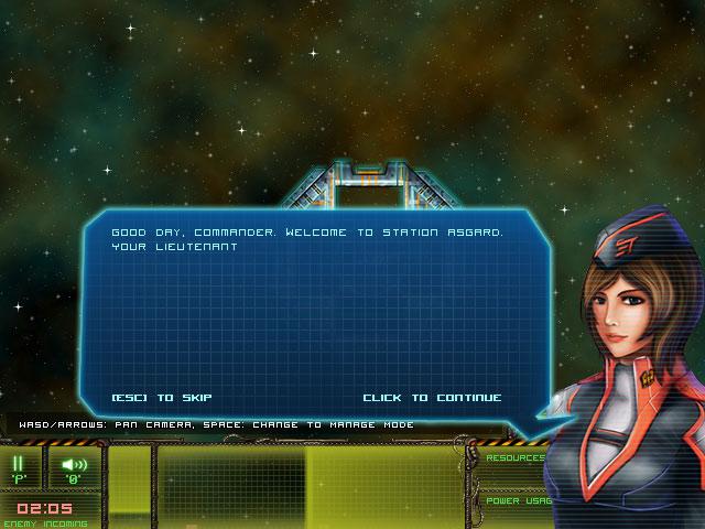 小游戏:星际女警官