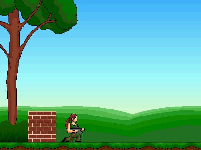 小游戏:女子特攻队
