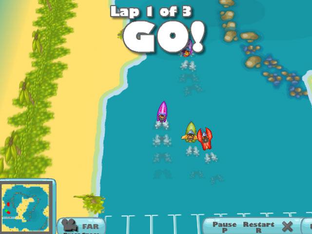 小游戏:跑跑卡丁船