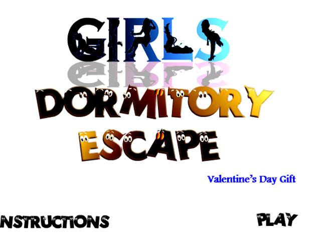 英文名:girls dormitory escape 不小心误入了女生的宿舍,趁美女们都在睡午觉得赶紧想办法逃出去才可以哦!总共分为两层,楼下还有保安,一定要小心不要被人发现哦! 操作说明:鼠标点击逃出房间!