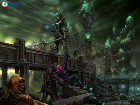 腾讯重量级神秘游戏大作精美原画放出