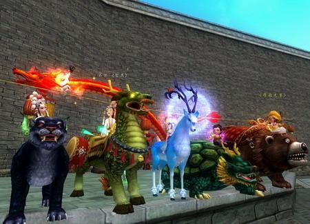 仙途新宠《寻仙》正式版神兽宠物上线