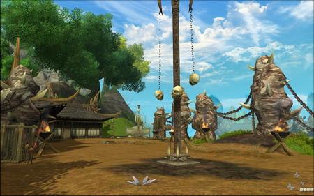 大图赏析《剑网3》三测全新场景曝光