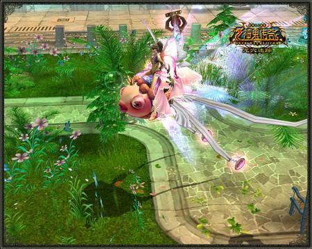 《神鬼传奇》舞池仙子皇后 龙鱼坐骑