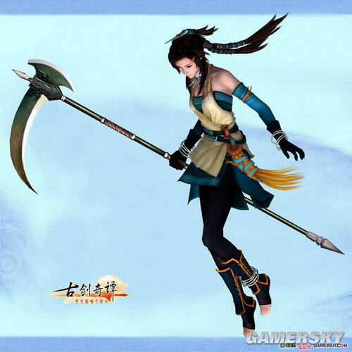 风晴雪 《古剑奇谭》第一女主角诞生记