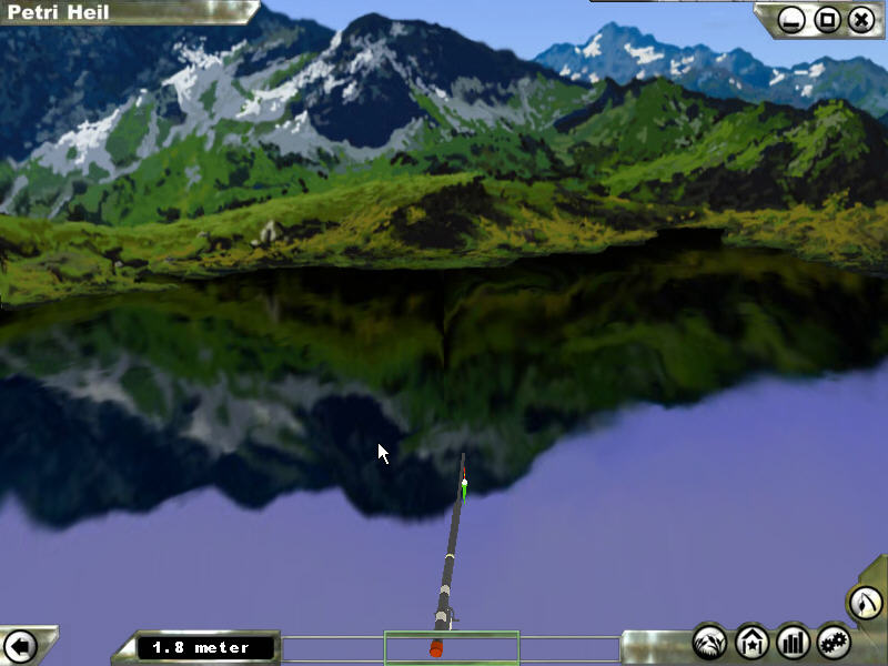 休闲模拟游戏 仿真钓鱼 试玩下载