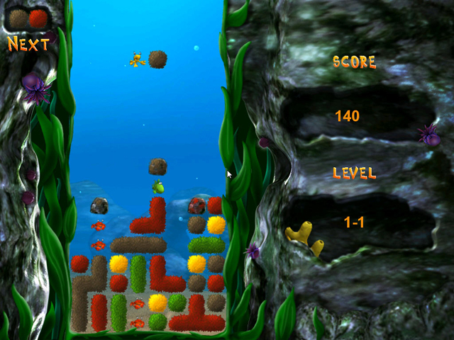 标题:休闲消除游戏《海底清洁工》试玩下载
