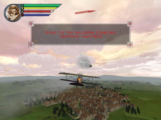 休闲飞行游戏《红色男爵》试玩下载