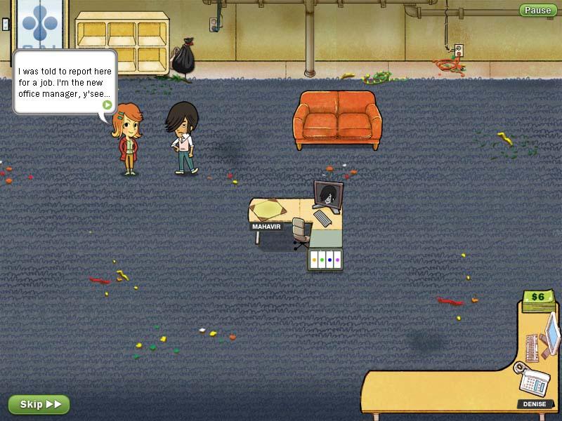 经典模拟养成游戏《美女秘书》试玩