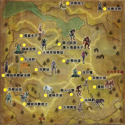 中班动物王国主题墙网络图