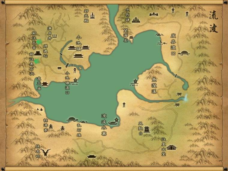 地宫-幻月洞 战场地图