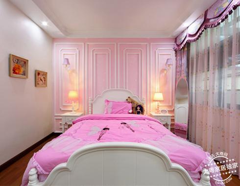 女生卧室设计图手绘