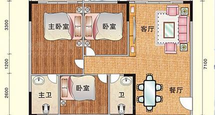 4米乘15米房子设计图展示图片