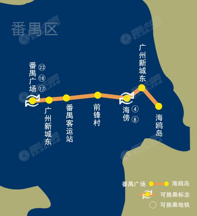 争取2020年前实现地铁三号线东延段通行至海鸥岛.