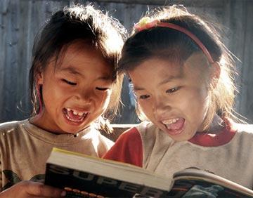 儿童读书公益宣传海报