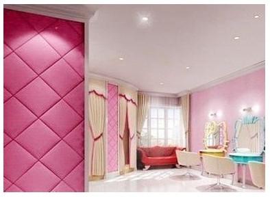 以这间粉红色英式设计的