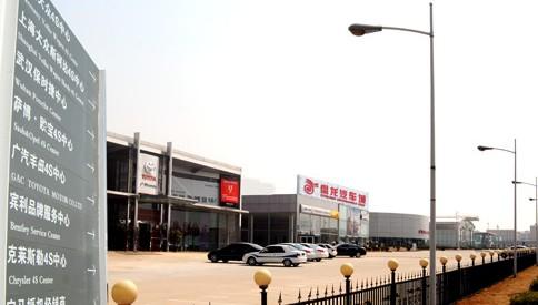 黄陂-武汉盘龙汽车城