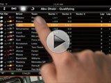 视频:F1 2010在iPad上的应用演示