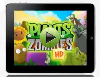 视频:《植物大战僵尸》iPad高清版
