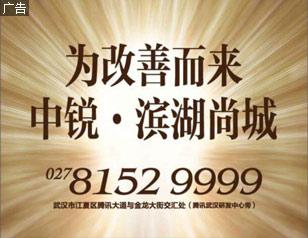 """中锐・滨湖尚城 为改善而来"""""""
