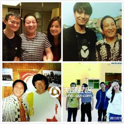 王林的明星们,李连杰,赵薇图片
