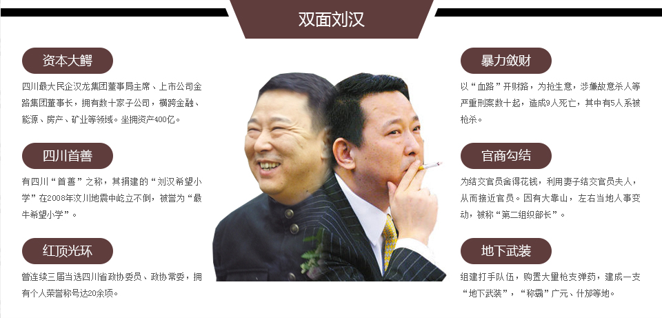 刘汉新闻涉黑犯罪别墅咸宁受审_大楚集团尾盘策略销售特大图片