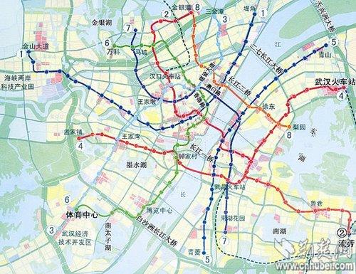 武汉城市快速轨道交通线网规划