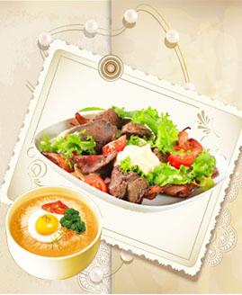 走进香颂地中海西餐厅