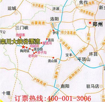 濮阳至鹤壁火车站地图