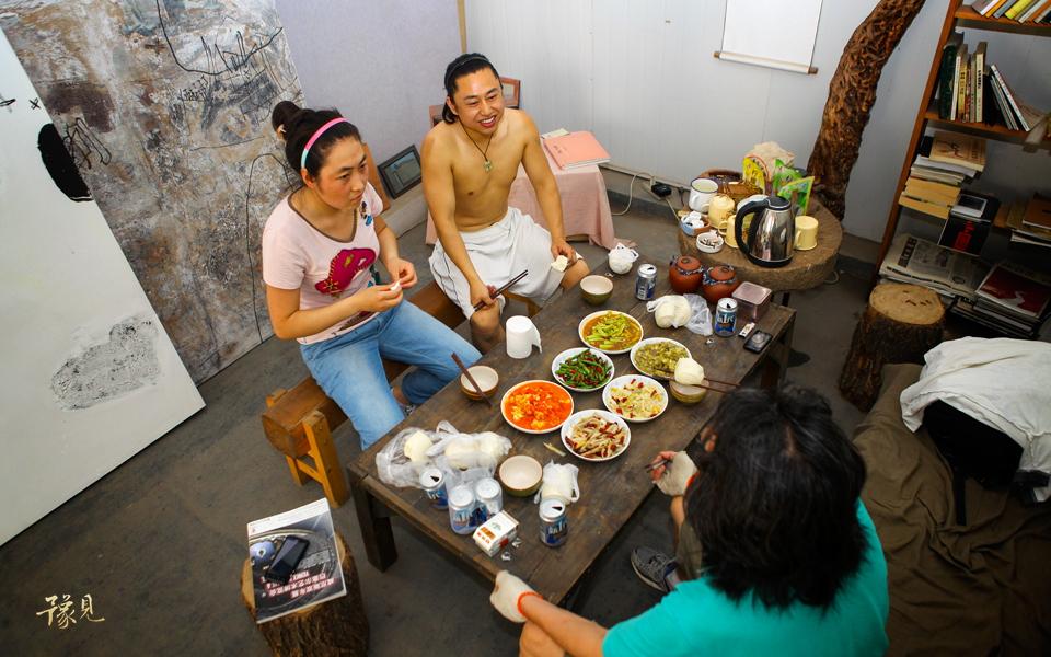 """豫见第四期:郑州""""798""""(上)――隐居石佛村的梵高们19"""