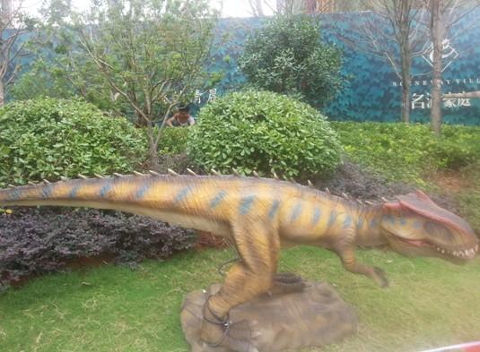 [大楚爱家团]武汉首个侏罗纪恐龙主题公园现身名湖