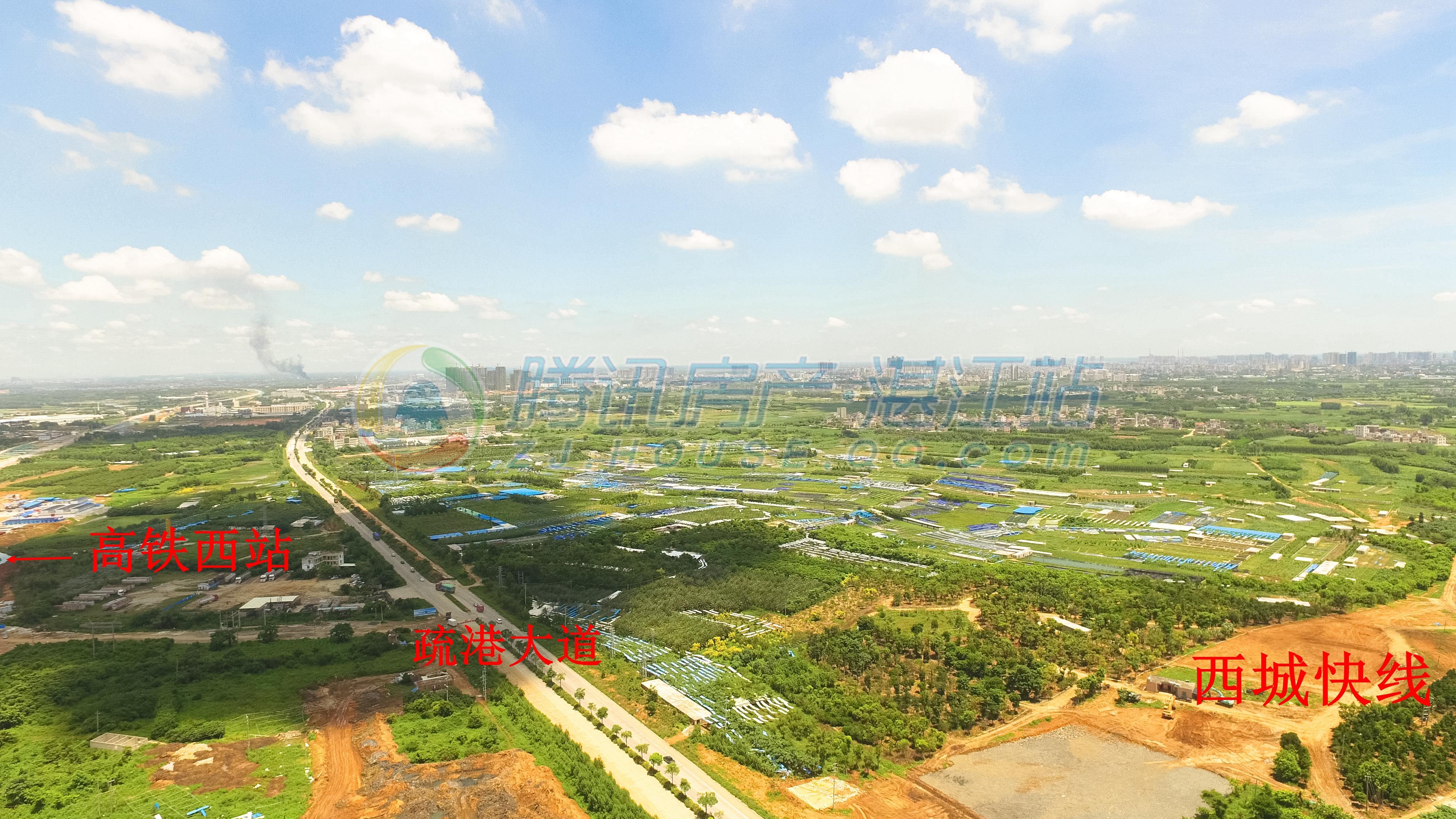 黄金大道雏形渐成,西城快线最新进度航拍组图新鲜出炉!