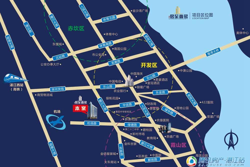 """头条:湛江霞山城区惊现""""4字头""""全能智慧型公寓!"""