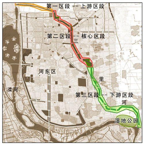 城市绿色生态廊道 亮相河北迁安