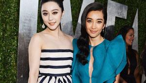 中国女星征战奥斯卡时装周