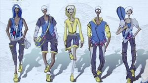 中国时尚运动服装网络设计大赛