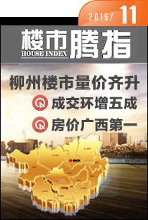 腾讯房产柳州站•楼市指数2015年11月