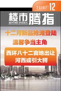腾讯房产柳州站•楼市指数2015年12月